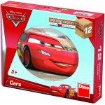 Dino Dřevěné kostky Cars ve světě 12 kostek