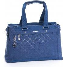 Hedgren shopper kabelka Malachite 586-910 modrá