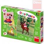 Dino puzzle České pohádky 3x55 dílků
