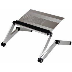 d2d1f7a85a Skládací stojan stolek pod notebook SuperStojan - Manager silver od ...
