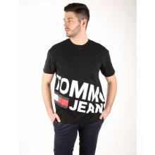 50118584dcd Tommy Hilfiger pánské černé tričko Essential
