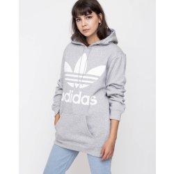 Dámská mikina Adidas Originals Trefoil Medium Grey Heather 213d7d00ee
