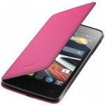 Pouzdro Acer Flip Cover Z6_Z4 růžové