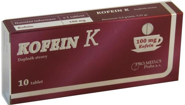 e6a44f99f2a Kofein K tablet 10 od 82 Kč - Heureka.cz
