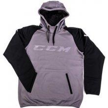 CCM Mikina Pullover GoDark Dark Grey Black 36136ae07fc