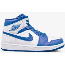 Nike Air Jordan 1 Mid Muži Boty Tenisky 554724-114 25b0eb23a39