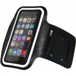 Pouzdro Sportiso Sportovní armband iPhone 5/5S/5C/SE Černé