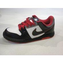 bc7ce2ecbfd Nike Mogan 2 jR white black cool grey sprt red skate boty
