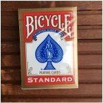 Bicycle Standard Rider Back Deck: Červená