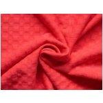 plastický úplet 8588 červený - 75%Polyester 15%Polyamid 10%Spandex