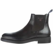 Oscar Kotníková obuv Gant Pánské černé