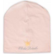 Elodie Details Beanies bavlněná čepice LOGO Powder Pink