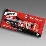 Lepidlo vteřinové SUPER GLUE/ DEN BRAVEN 3g