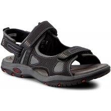 Sandály CANGURO W004-906 Nero