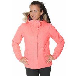 dd2fa058a Dámská bunda a kabát Roxy Jet Ski Solid NKN3 Neon Grapefruit Gana EmBoss