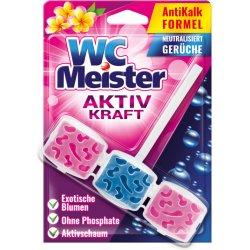 WC Meister Aktiv Kraft závěska do WC Exotické květy 45 g