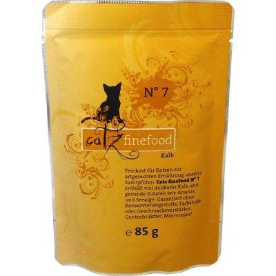 Petnature Catz Finefood 7 telecí maso 85 g