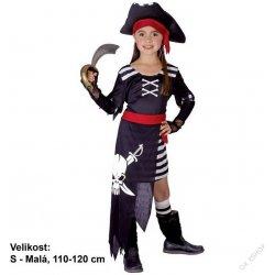 38e795e1db3 Dětský karnevalový kostým Šaty Pirátka