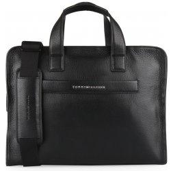 Tommy Hilfiger pánská kožená taška přes rameno Elevated AM0AM03596 černá bf4c0d1954a