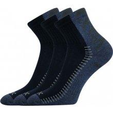 VoXX REVOLT antibakteriální ponožky s ionty stříbra tm. modrá