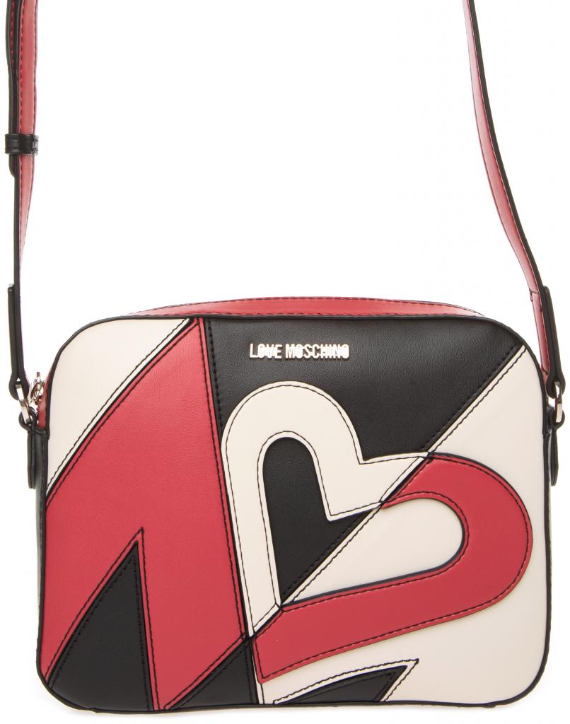 Love Moschino Cross body bag černá červená bílá alternativy - Heureka.cz 62f487fdfaf