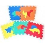 Teddies BABY Pěnové puzzle Dinosauři 30 x 30 cm 10 ks