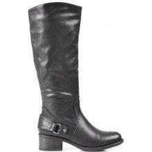 Alicia Shoes Neodolatelné černé kozačky HZ0003B