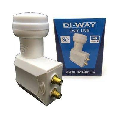 DI-WAY White Leopard line LNB TWIN 0,1dB