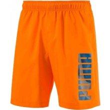 Puma HERO WOVEN shortS oranžové