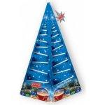 IMPRA Vánoční stromeček modrý Fruity Fiesta černý čaj s mandle 15 x 2 g