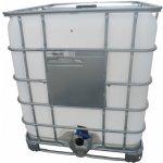IBC kontejner REKO 1000 l, kovová paleta