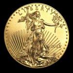 Eagle Zlatá mince American 1 10oz