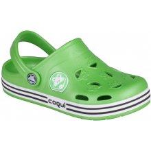 Coqui Dětské sandály Froggy zelené