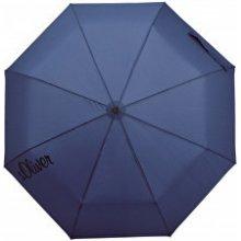 s.Oliver Dámský skládací mechanický deštník Basic Uni navy 70865SO22