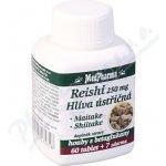 MedPharma Reishi 250 mg Hlíva ústřičná 67 tablet