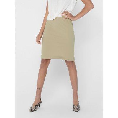 Only pouzdrová sukně Tina béžová