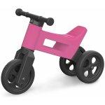 Teddies Odrážedlo Funny Wheels 2v1 růžové