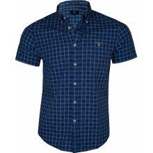 a37bb04f1e7 Gant Pánská košile s krátkým rukávem - Modrá