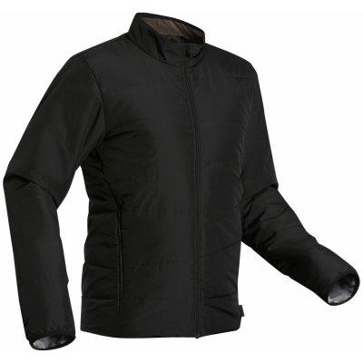 Forclaz pánská turistická prošívaná bunda Trek 50 černá