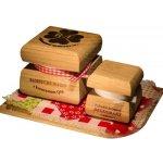 RaE Bambucké tělové máslo Q10 + Krémový deodorant Nature Cashmere dárková sada