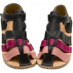 d2e59dfc9432 Dětská bota Barefoot dětské sandály ZEAZOO MARLIN GRAY PINK