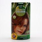 HennaPlus dlouhotrvající barva na vlasy 7.3 Sytě zlatá blond 100 ml