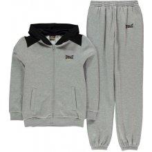 Everlast Jogging Suit Child Boys Grey Black
