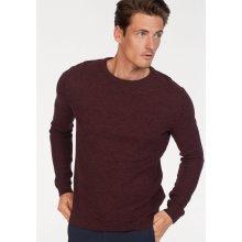 Tom Tailor Pletený pulovr, fialový melír