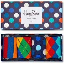 Happy Socks barevný set ponožek Mix