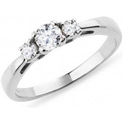 Klenota Diamantovy Zasnubni Prsten Z Bileho Zlata K0235012 Od 36 900
