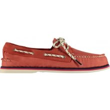SPERRY Nautical 2 Eye Shoes Red