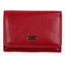 Cosset Dámská kožená peněženka 4509 Red Flamengo 558838ef69b