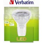 Verbatim LED žárovka GU5.3 4,8W 350lm 35W typ MR16 35° teplá bílá