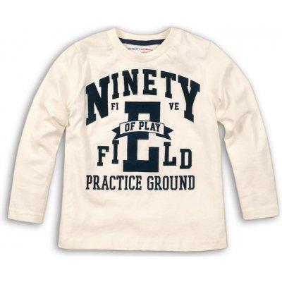 Minoti NINETY 7 tričko chlapecké s dlouhým rukávem bílá